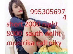 Call-girls-in-munirka-delhi 09953056974 Short 2000 Night 6000 Escorts Provide DELHI