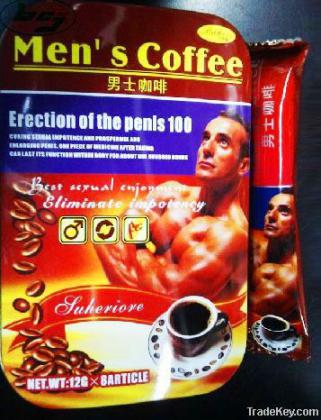 order Men's Coffee for strong and hard erection and it also helps for penis Enhancement