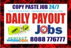 Copy paste Job | 8088776777 | Online jobs | 1162 | Data entr