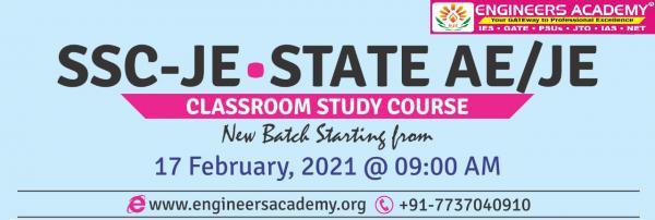 Best SSC JE coaching in Delhi